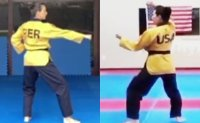 Online taekwondo poomsae championships attract athletes from 98 nations