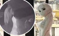 Who destroyed Daejeon's popular Elsa snowwoman?