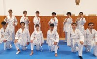 Vatican City seminary's taekwondo course holds first belt test