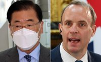 Top diplomats of South Korea, Britain agree on cooperation on vaccine access, climate change