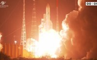 Korean-made geostationary environment-monitoring satellite successfully launched