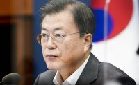 Moon vows more efforts to create jobs in his Labor Day message
