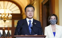 Moon seeks US Congress support in addressing North Korea issue