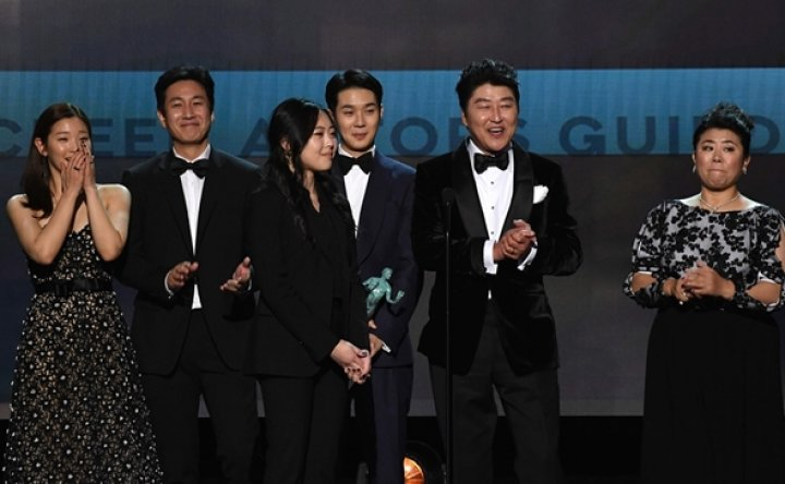 'Parasite' wins Screen Actors Guild award for acting ensemble in run-up to Academy Awards
