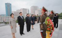 North Korean leader vows support for China's fight against 'hostile forces'