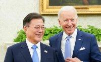 Biden says Korea, Taiwan fundamentally different from Afghanistan