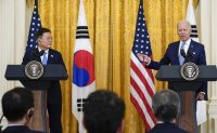 Biden says US will provide COVID-19 vaccines for all South Korean troops