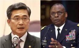 Defense chiefs of S. Korea, U.S. reaffirm commitment to alliance, combined defense posture