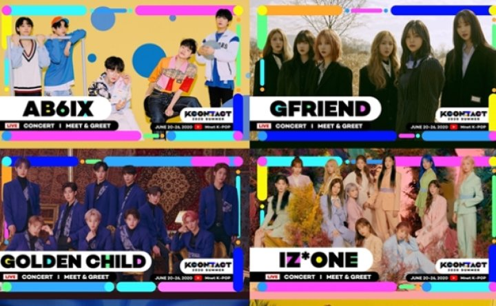 K-pop stars to play online gigs for 'KCON:TACT 2020 SUMMER'