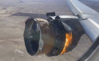 Boeing grounds 777s after engine fire in Colorado