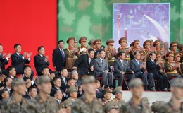North Korean leader says boosting military capabilities is 'not for war with South or US'