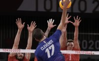 France beats Russians to earn 1st Olympic volleyball gold