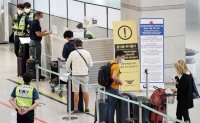 Incheon airport's daily passenger number drops below 10,000 in September