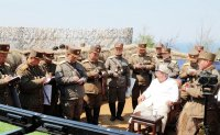 North Korea's paper urges military's absolute obedience to ruling party on Army-First Day
