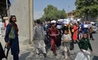 Taliban special forces bring abrupt end to women's protest
