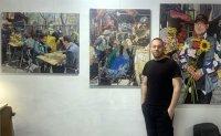 Artist paints portraits of authentic Korea