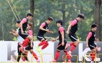 Korea set for final Olympic football tuneups vs. Argentina, France