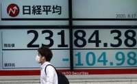 Japan's economy shrinks at record pace