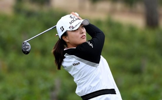 Ko Jin-young vaults into lead at Portland LPGA event