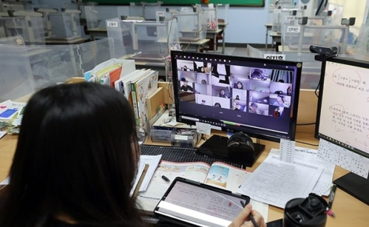 Teachers' portrait rights, copyright infringed on under online education