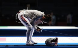 S. Korean woes in fencing continue with early elimination of ex-champion