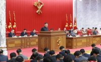 North Korean leader opens meeting to discuss how to cope with 'current international situation'