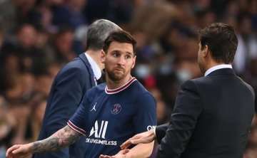 PSG's Pochettino: 'No issues' with Messi after substitution