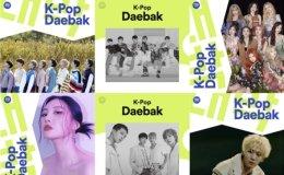 Spotify's 'K-Pop Daebak' playlist attracts 3.1 million followers