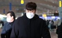 Blue Jays' pitcher Ryu Hyun-jin heads back to US for spring training