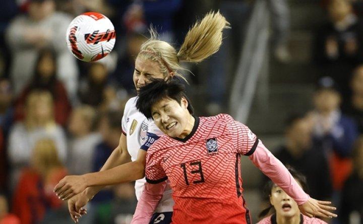 Korea hold US to scoreless draw in women's football friendly