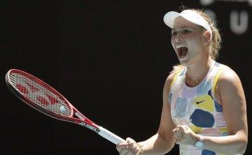 Vekic ousts 5-time major winner Sharapova at Australian Open