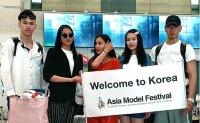 Asia Model Festival contestants arrive in Korea [PHOTOS]
