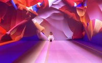 Luxury department stores introduce art to attract customers
