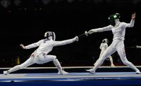 Korean epee fencers knocked out of Olympic competition