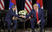 Trump slams South Korea's Moon but says likes North Korea's Kim