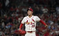 Cardinals' Kim Kwang-hyun stays in bullpen in postseason loss to Dodgers