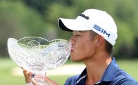 Morikawa clutch in finish and playoff to win Workday Open