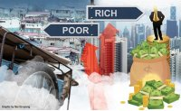 Gap between rich and poor widens during pandemic