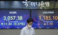 KOSPI falls 6.9% in Q3, marking 1st quarterly decline amid pandemic