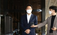 Seoul mayor grilled by prosecutors over allegations of election law violation