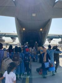 391 Afghans to arrive here Thursday in evacuation operation