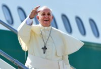 Let's listen to papal message