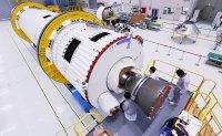 South Korea unveils space rocket engine for test-launch