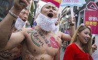 Health gurus strip off to push organ donation [PHOTOS]