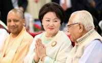 South Korean first lady inaugurates memorial to first century queen in India