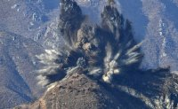 North Korea destroys guard posts in DMZ