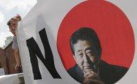 South Koreans hold anti-Abe rally