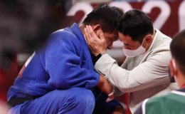 Cho Gu-ham wins silver in men's 100kg judo