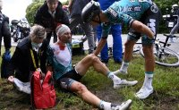 Cycling spectator who caused Tour de France crash arrested