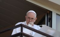 Pope Francis appears in public for first time since surgery